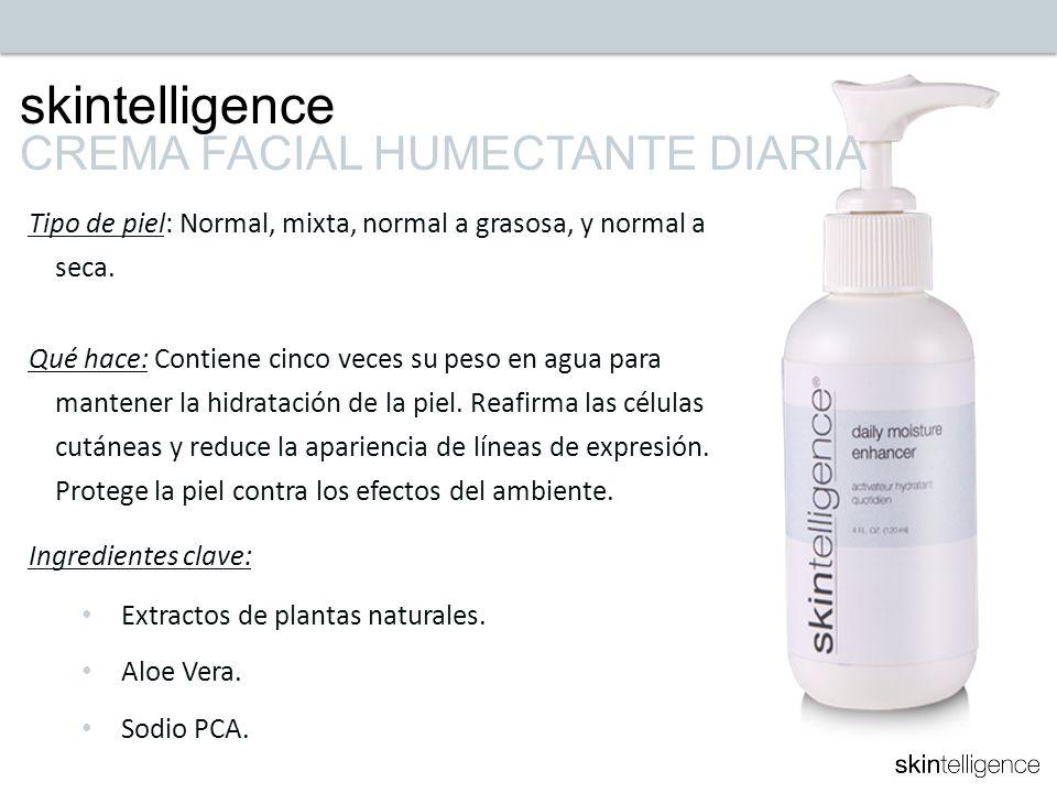 skintelligence CREMA FACIAL HUMECTANTE DIARIA