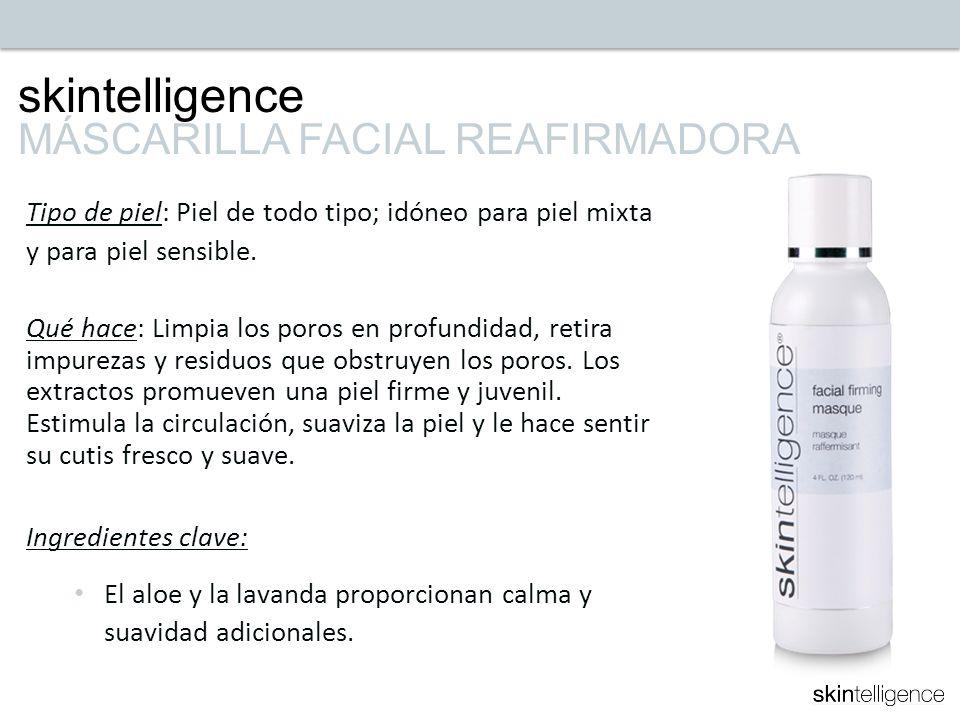 skintelligence MÁSCARILLA FACIAL REAFIRMADORA
