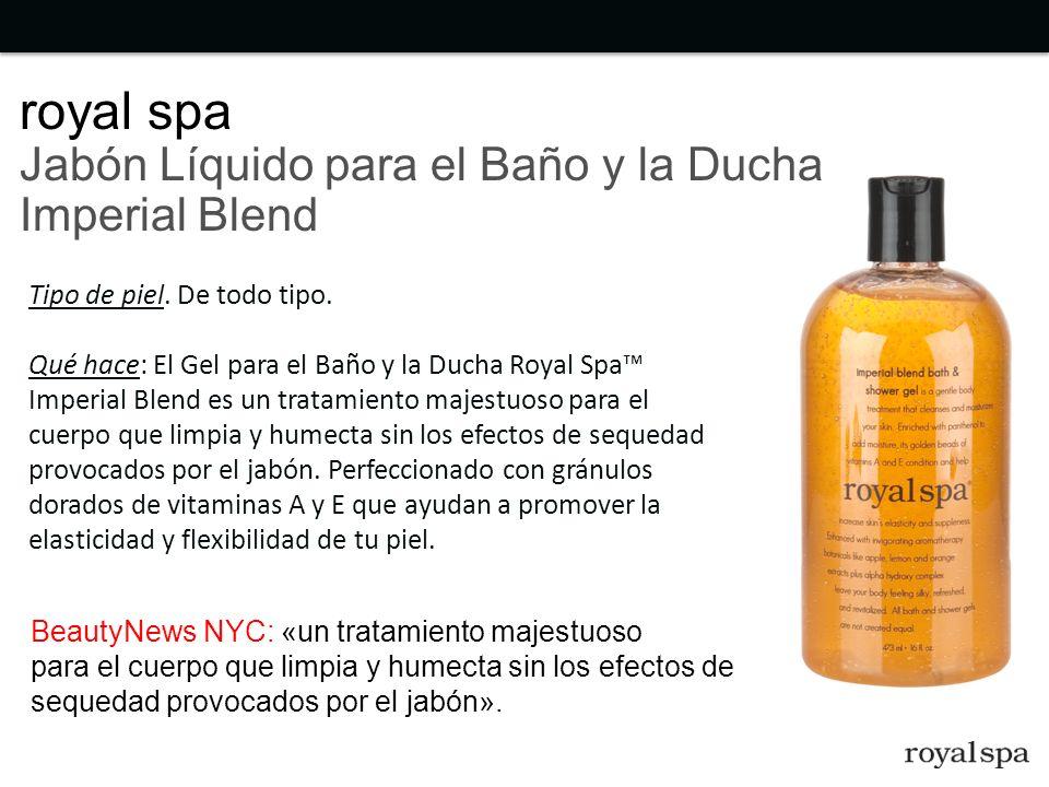 royal spa Jabón Líquido para el Baño y la Ducha Imperial Blend