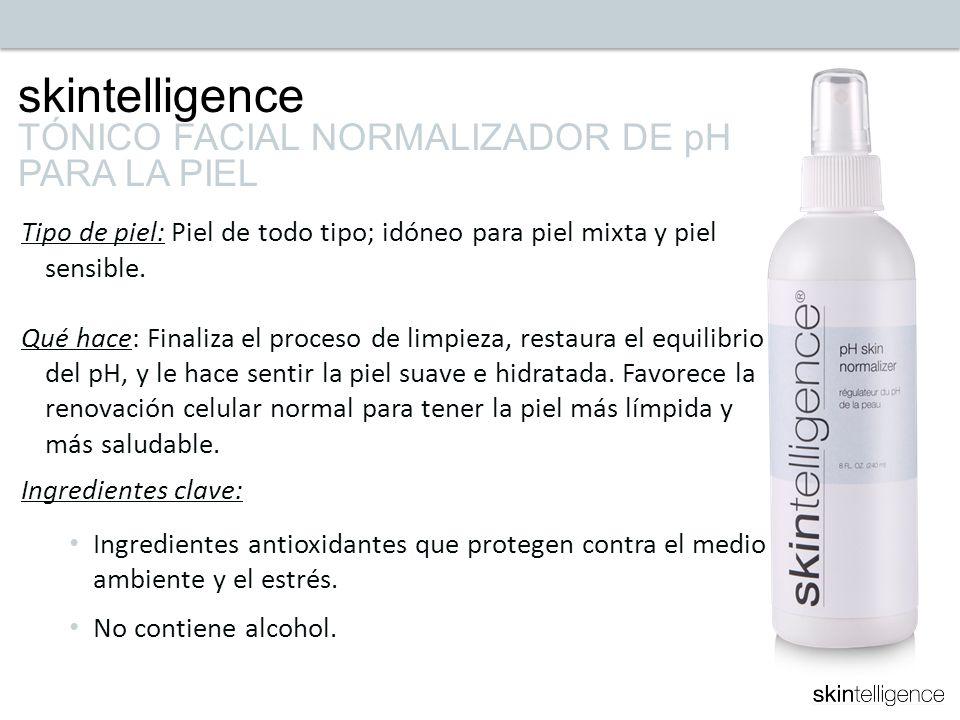 skintelligence TÓNICO FACIAL NORMALIZADOR DE pH