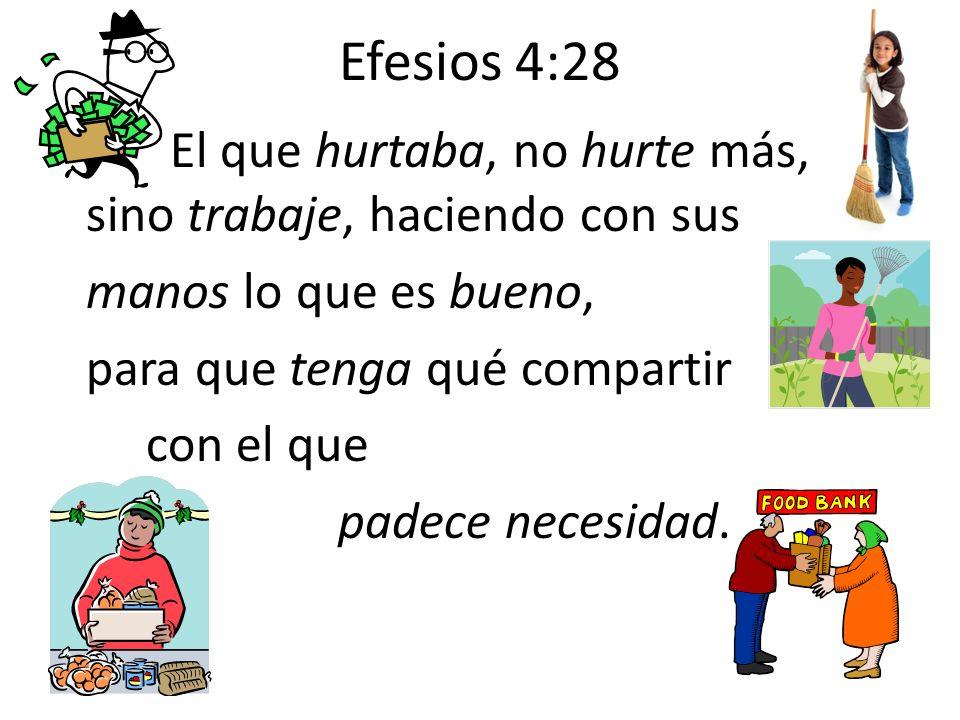 Efesios 4:28