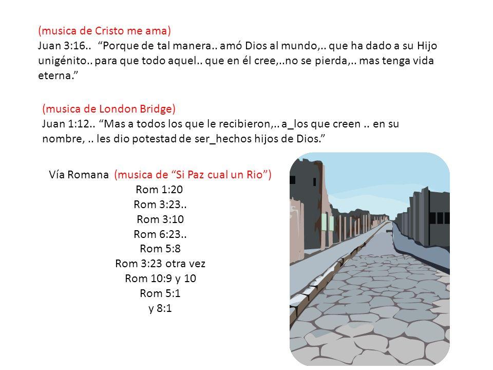Vía Romana (musica de Si Paz cual un Rio )