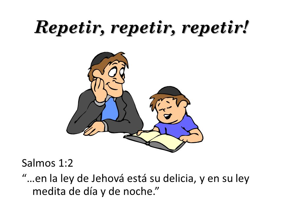 Repetir, repetir, repetir!