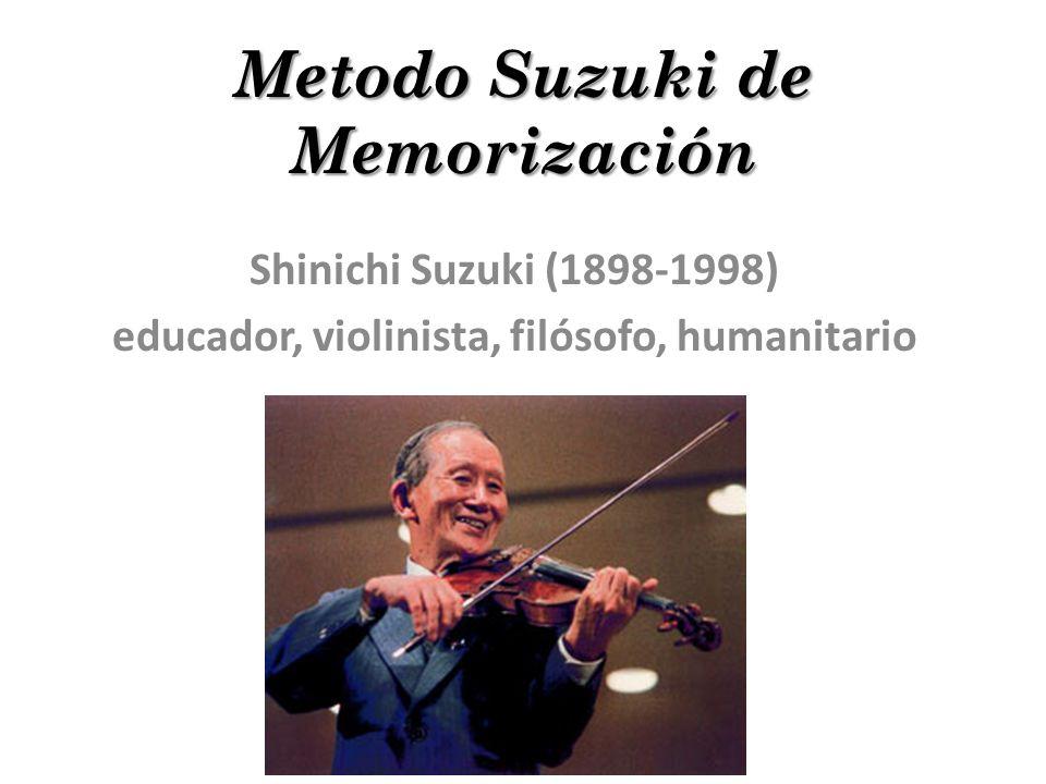 Metodo Suzuki de Memorización