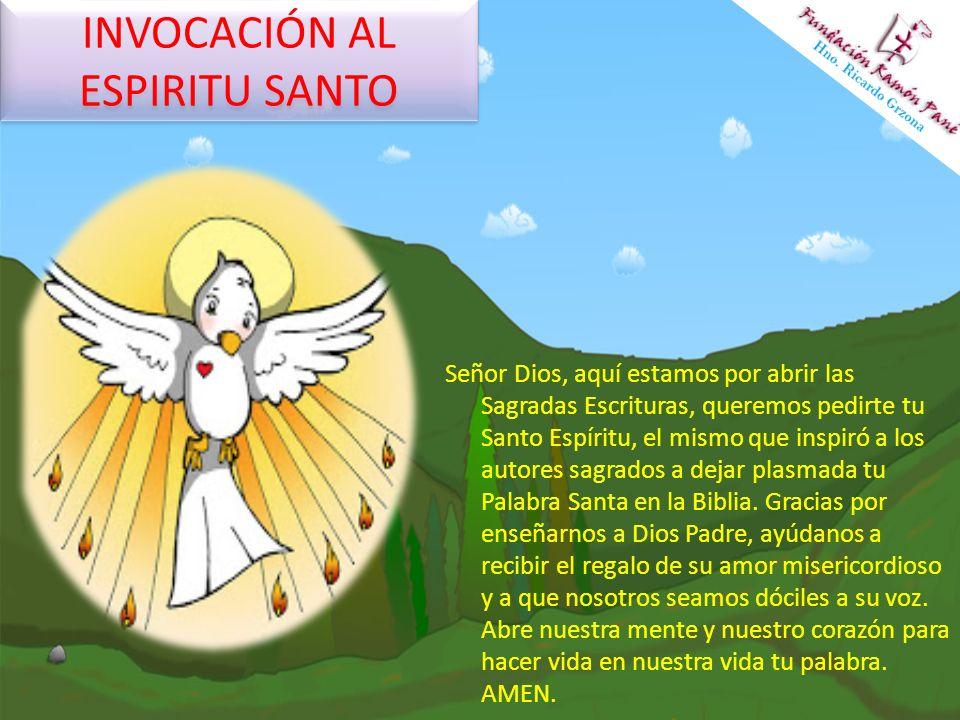 INVOCACIÓN AL ESPIRITU SANTO
