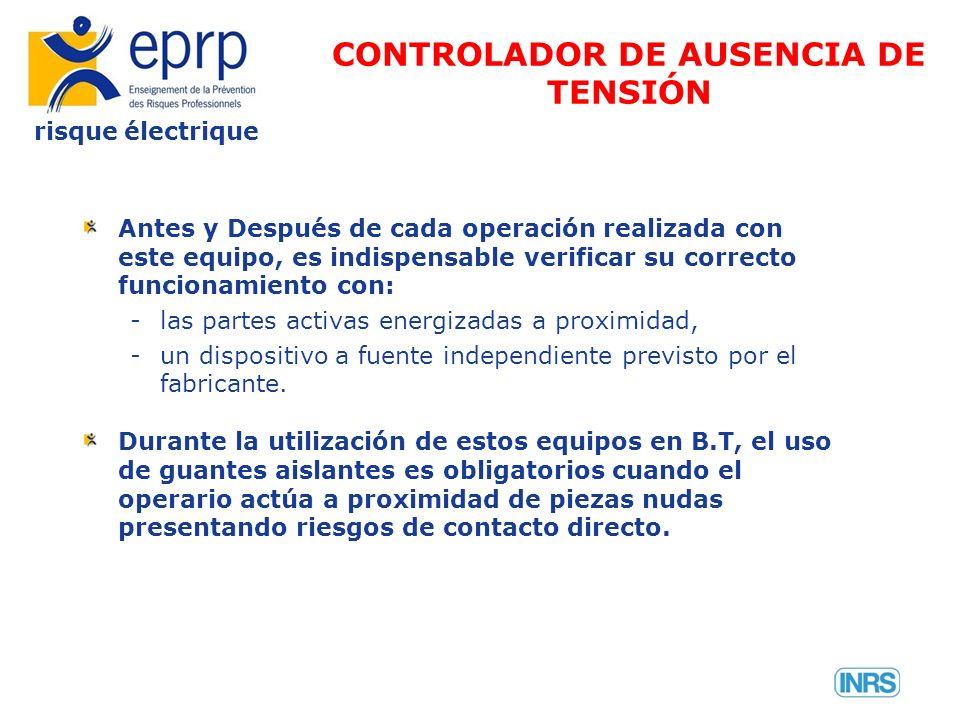 CONTROLADOR DE AUSENCIA DE TENSIÓN
