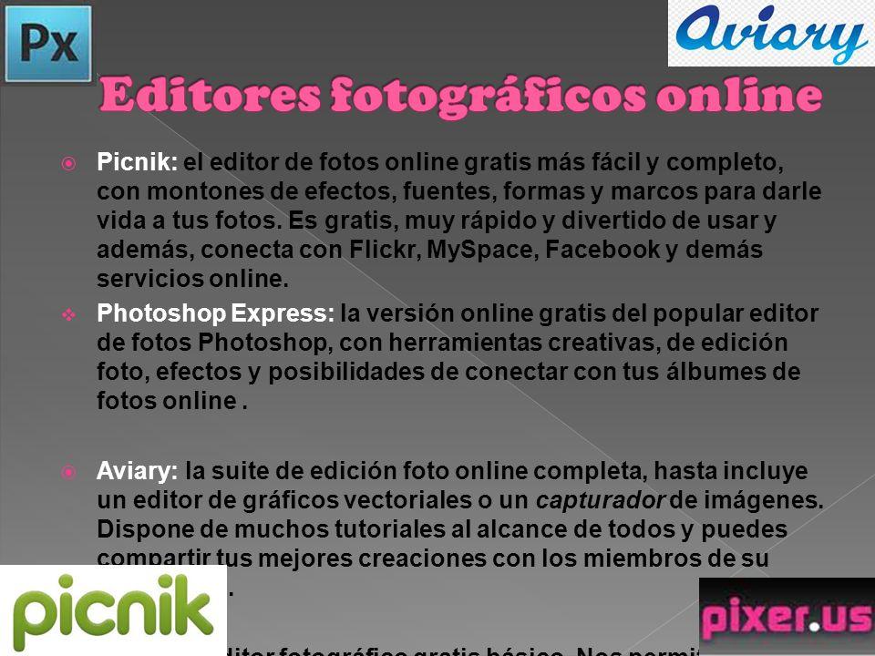 Editores fotográficos online