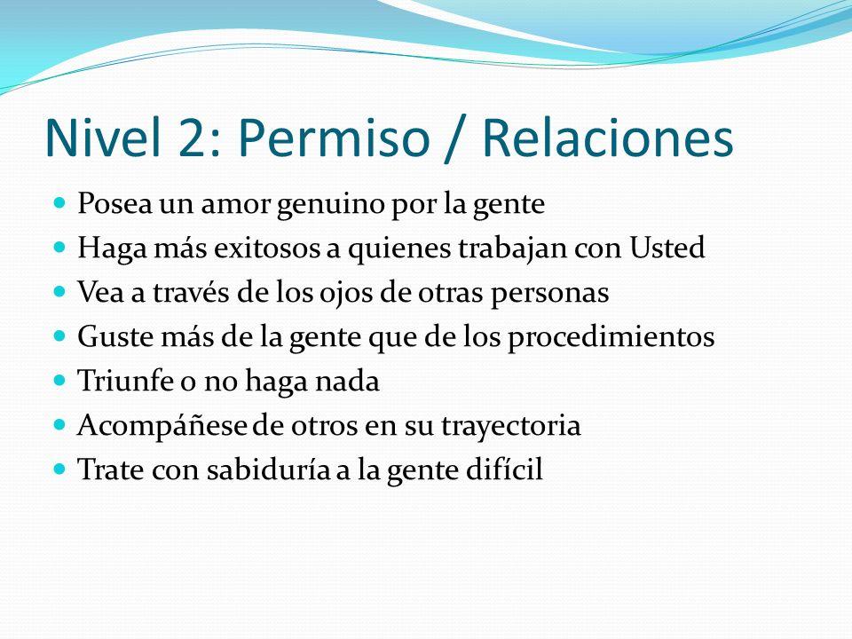 Nivel 2: Permiso / Relaciones