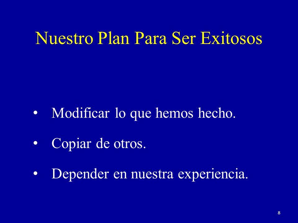 Nuestro Plan Para Ser Exitosos