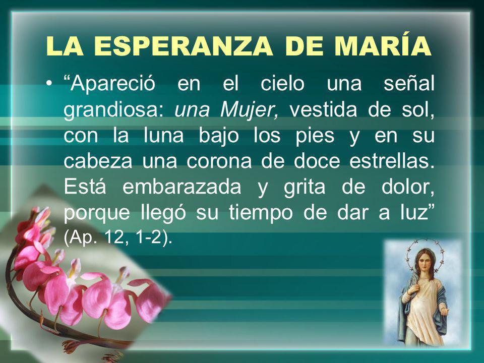 LA ESPERANZA DE MARÍA