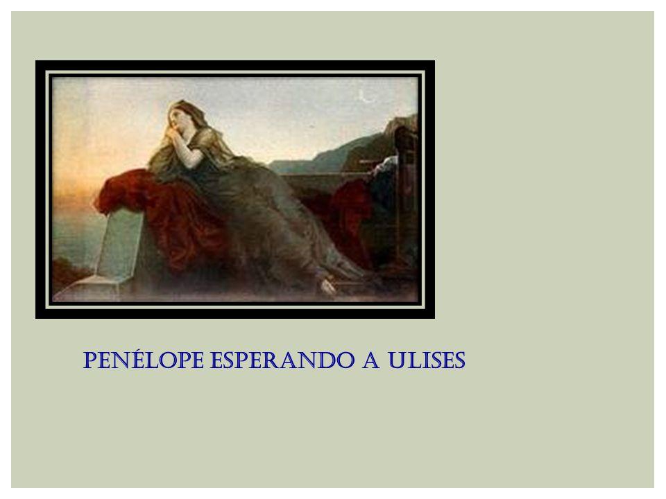 Penélope esperando a Ulises