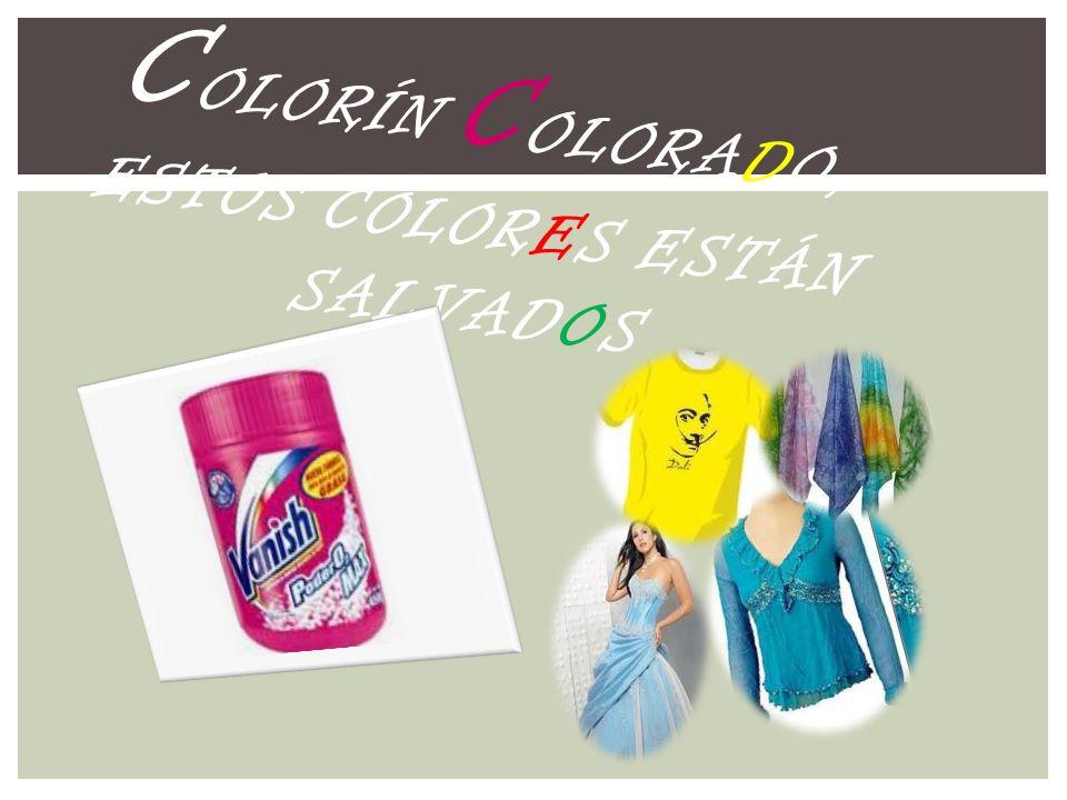 Colorín Colorado, estos colores están salvados