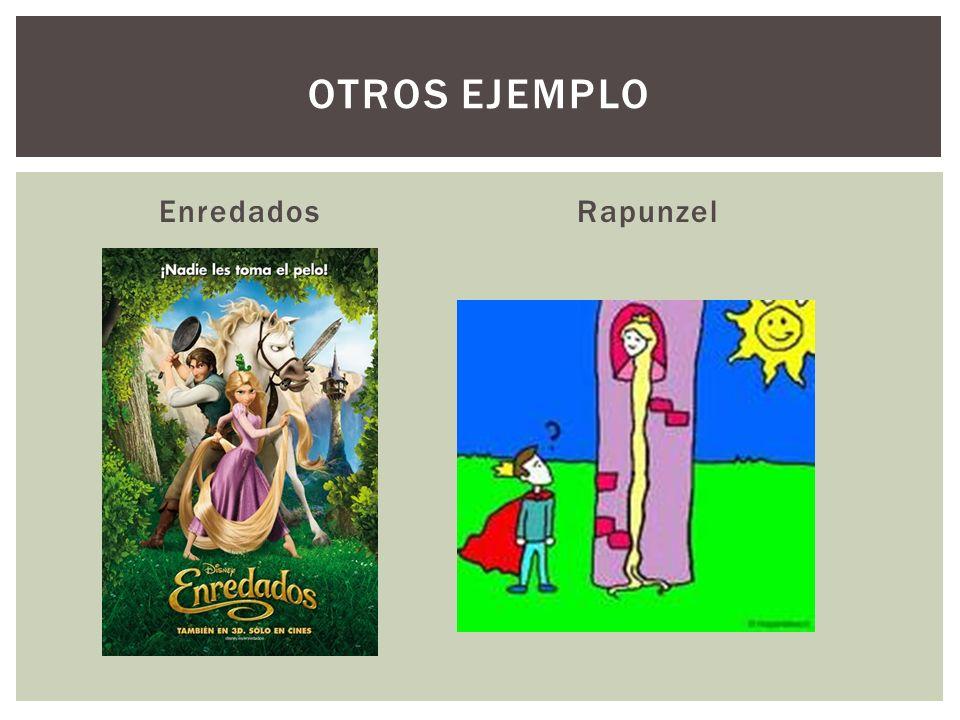 OTROS Ejemplo Enredados Rapunzel