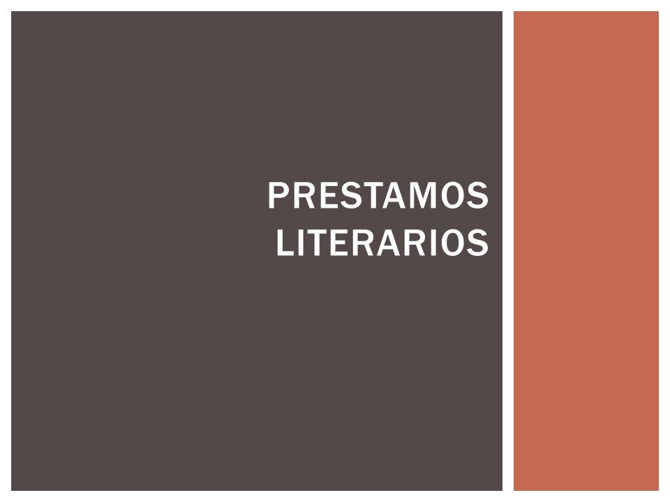Prestamos literarios