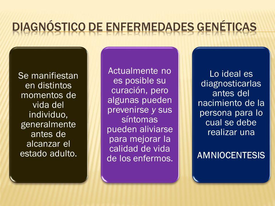 Diagnóstico de enfermedades genéticas
