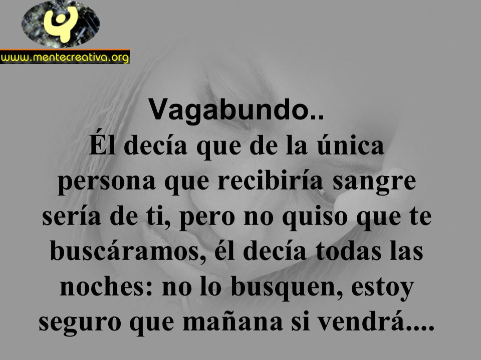 Vagabundo..