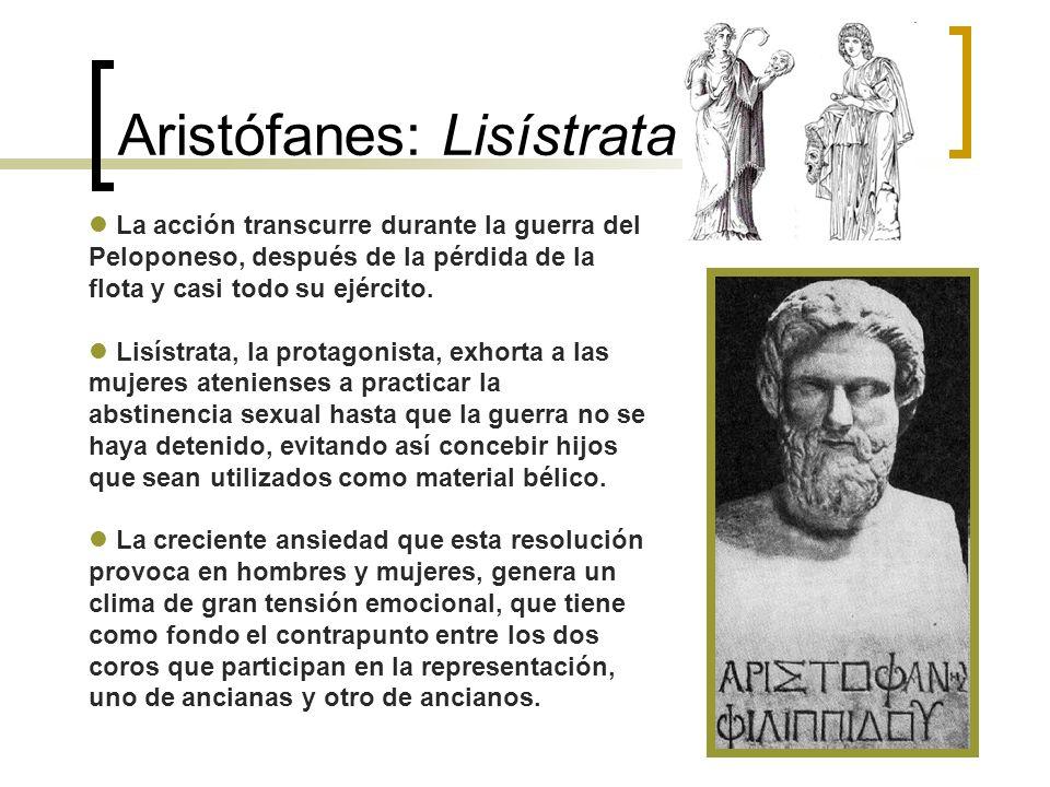 Aristófanes: Lisístrata