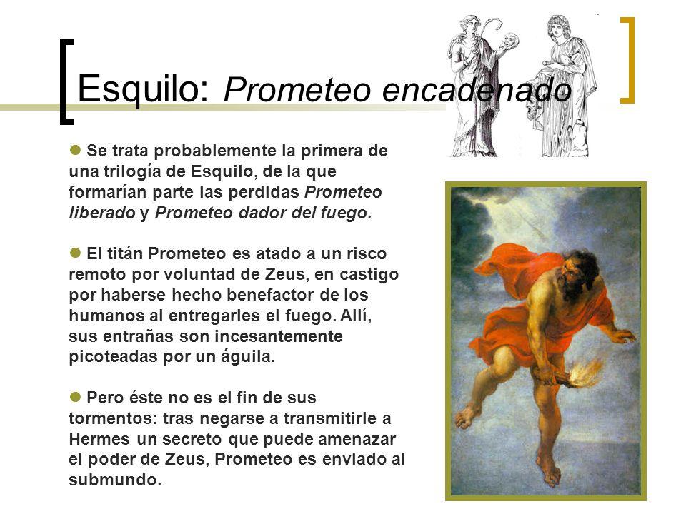 Esquilo: Prometeo encadenado