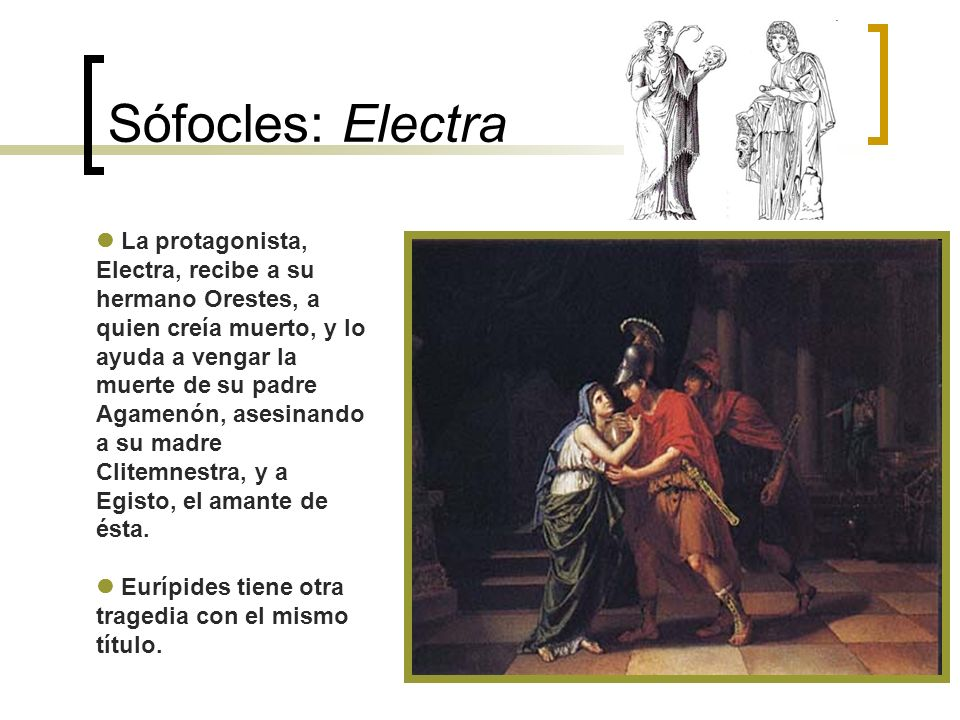 Sófocles: Electra