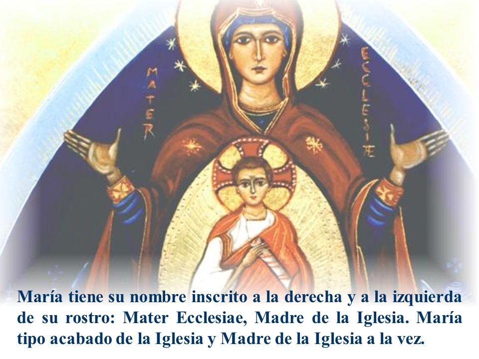 Rostro y nombre:Mater Ecclesiae