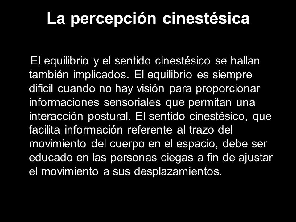 La percepción cinestésica