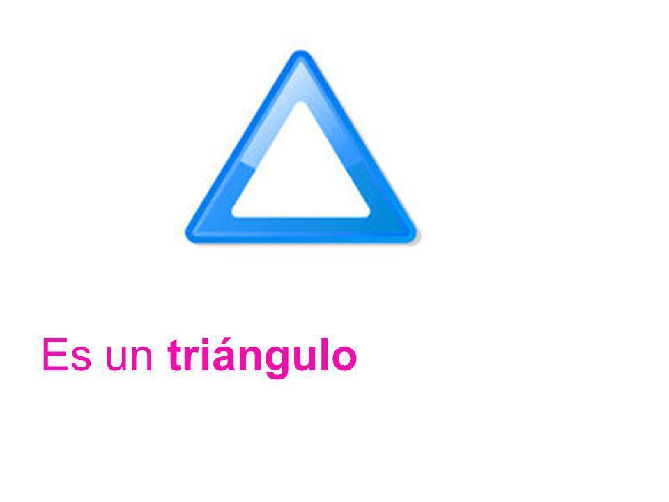 Es un triángulo