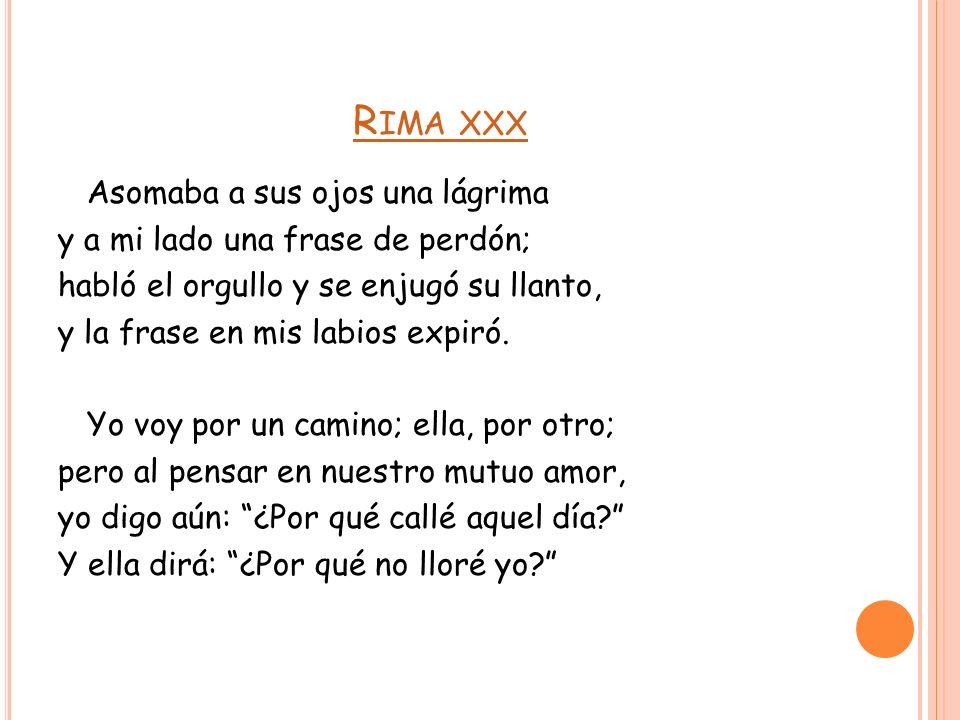 Rimas y Leyendas - GABécquer: Rima