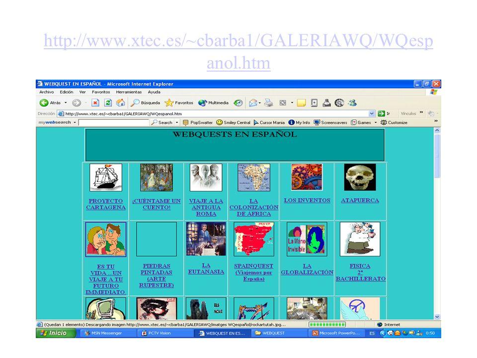 http://www.xtec.es/~cbarba1/GALERIAWQ/WQespanol.htm