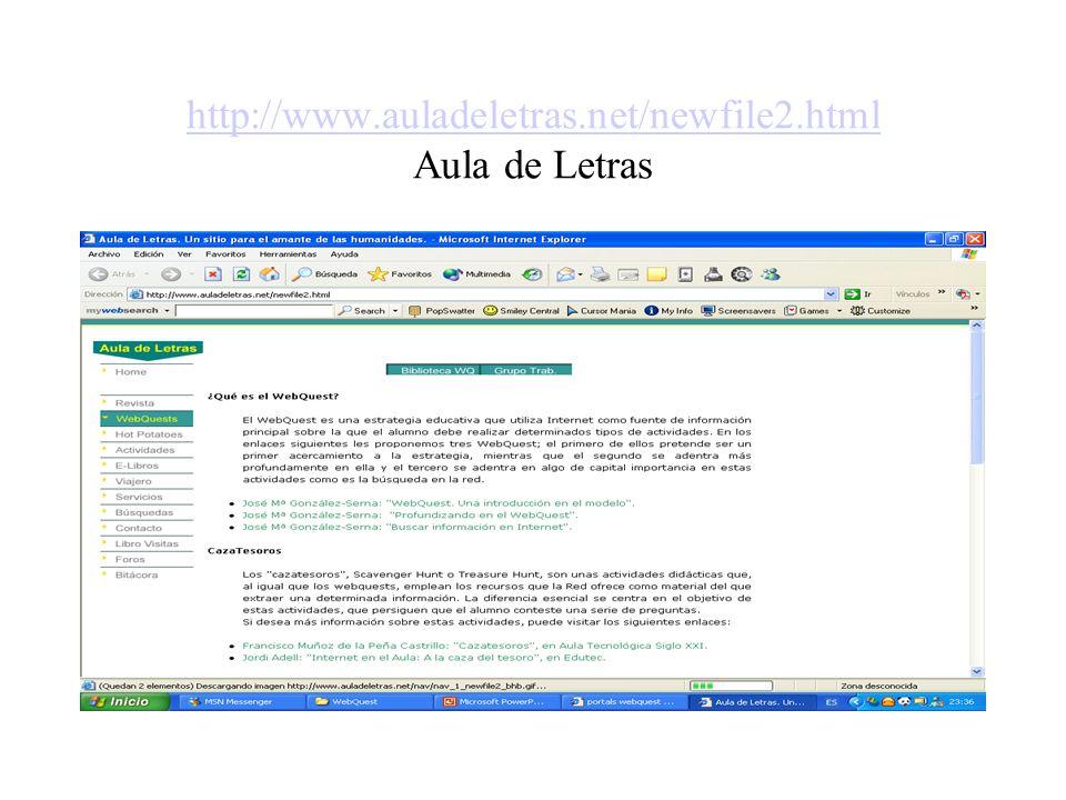 http://www.auladeletras.net/newfile2.html Aula de Letras