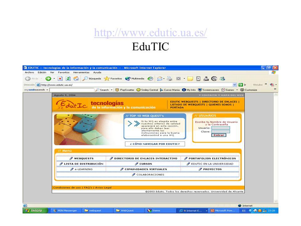http://www.edutic.ua.es/ EduTIC
