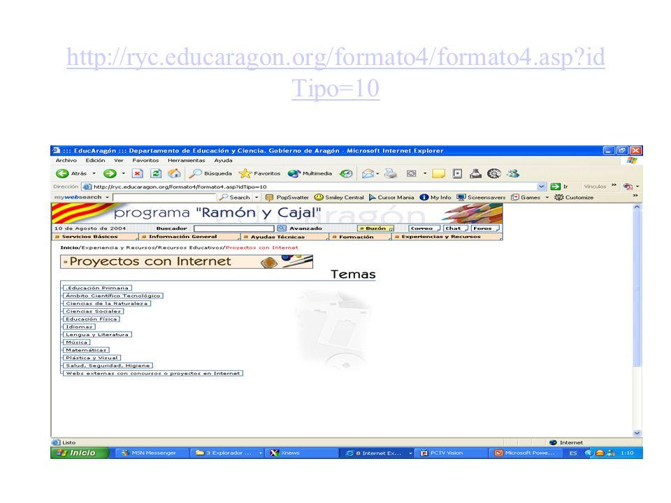 http://ryc.educaragon.org/formato4/formato4.asp idTipo=10