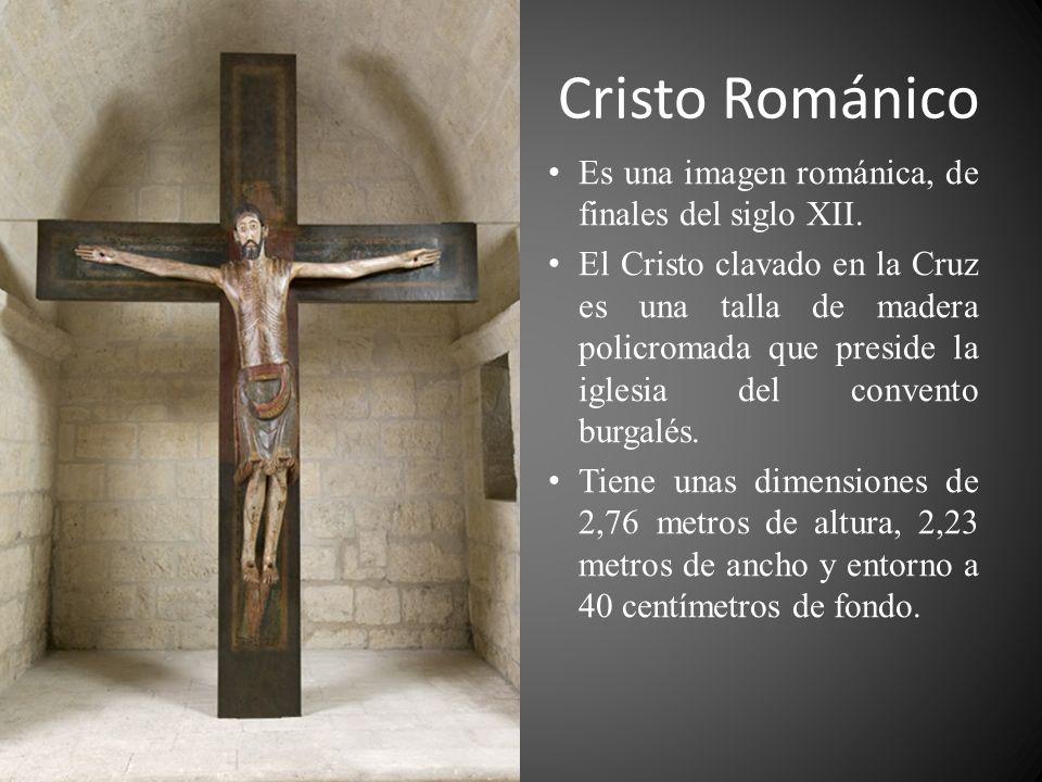 Cristo Románico Es una imagen románica, de finales del siglo XII.