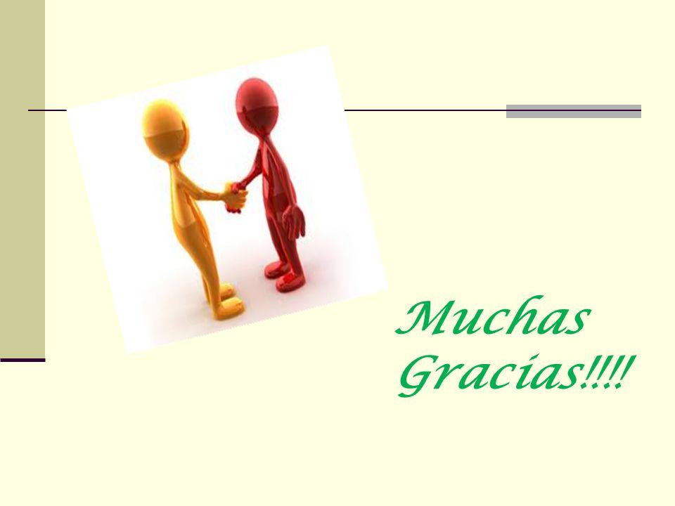 Muchas Gracias!!!!