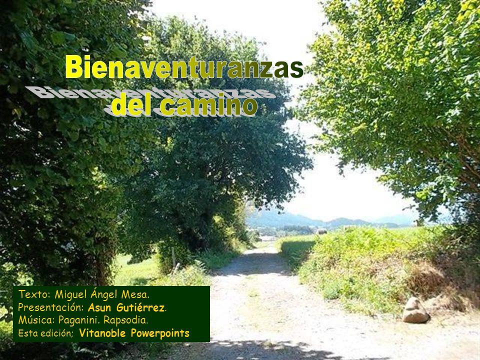 Bienaventuranzas del camino Texto: Miguel Ángel Mesa.