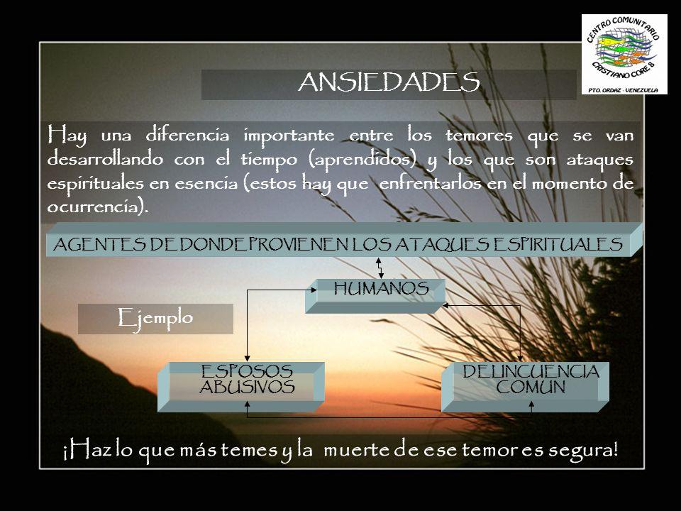AGENTES DE DONDE PROVIENEN LOS ATAQUES ESPIRITUALES