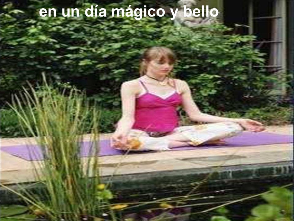Si aún me ves como una diosa en un día mágico y bello