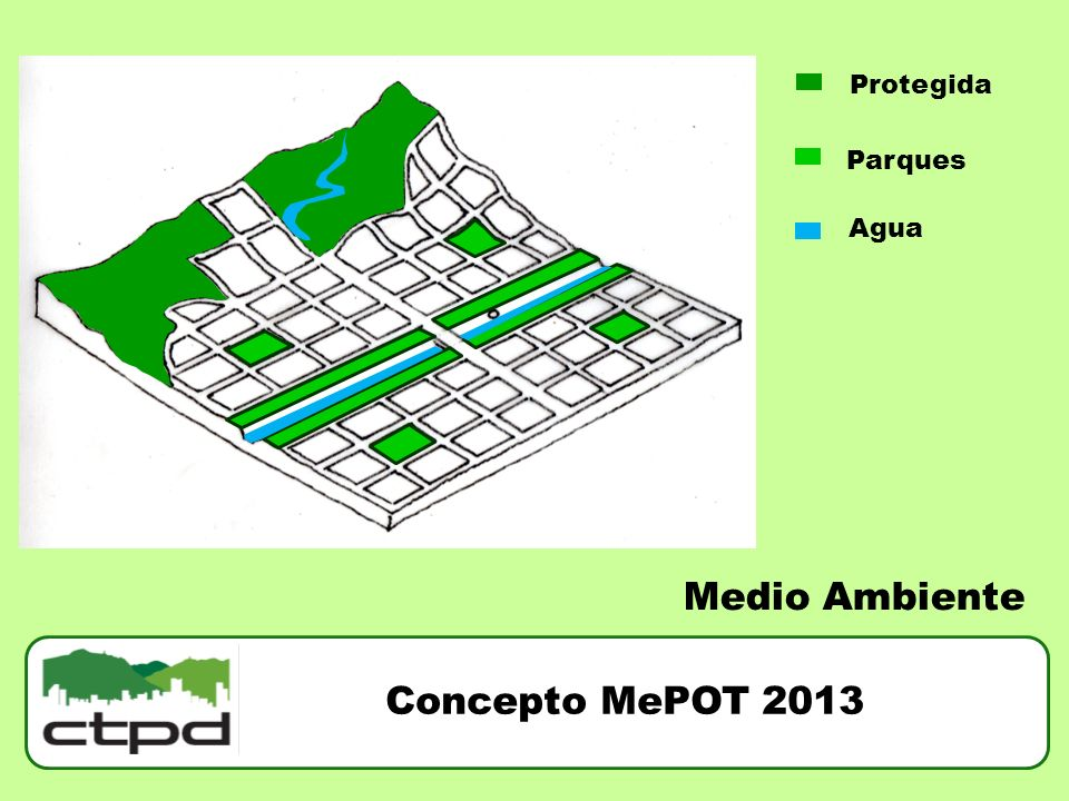 Protegida Parques Agua Medio Ambiente Concepto MePOT 2013