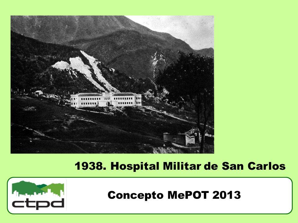 1938. Hospital Militar de San Carlos
