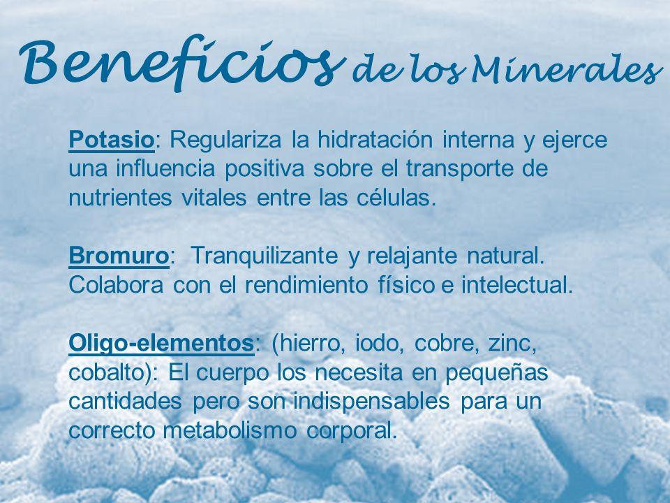 Beneficios de los Minerales