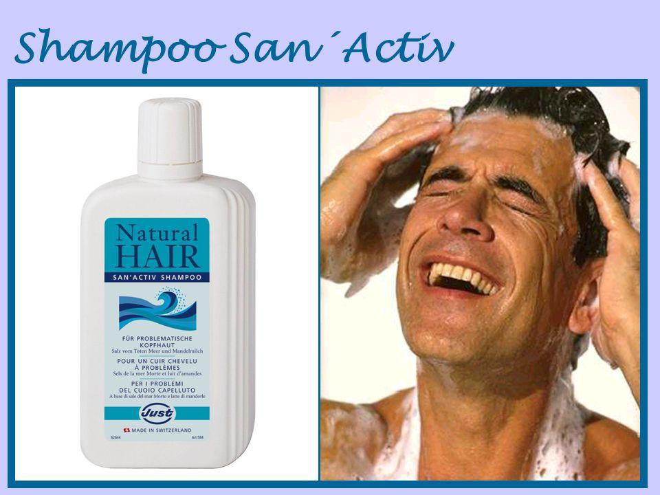 Shampoo San´Activ Nuevo shampoo San´Activ. Un shampoo suave, sin colorantes ni.