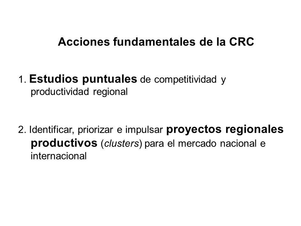 Acciones fundamentales de la CRC