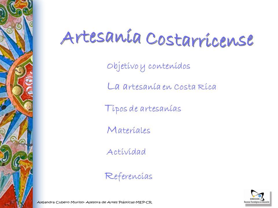 Artesanía Costarricense