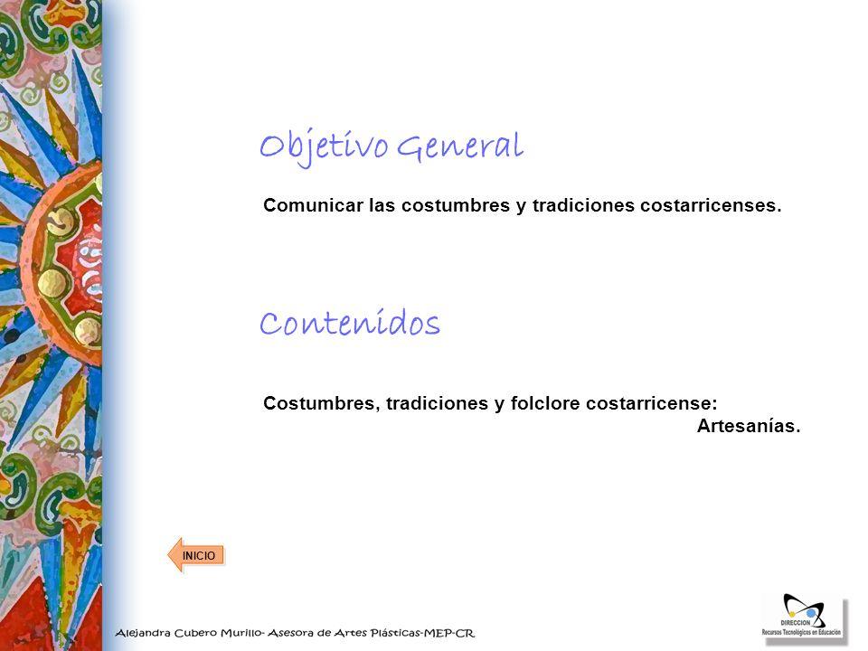 Objetivo General Contenidos