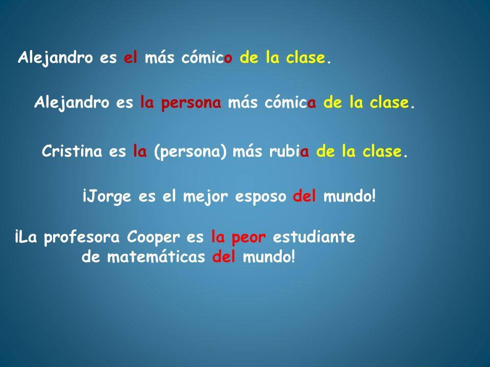 ¡La profesora Cooper es la peor estudiante de matemáticas del mundo!