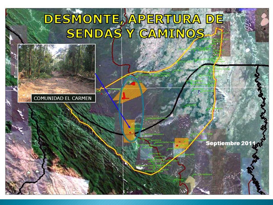 COMUNIDAD EL CARMEN Septiembre 2011
