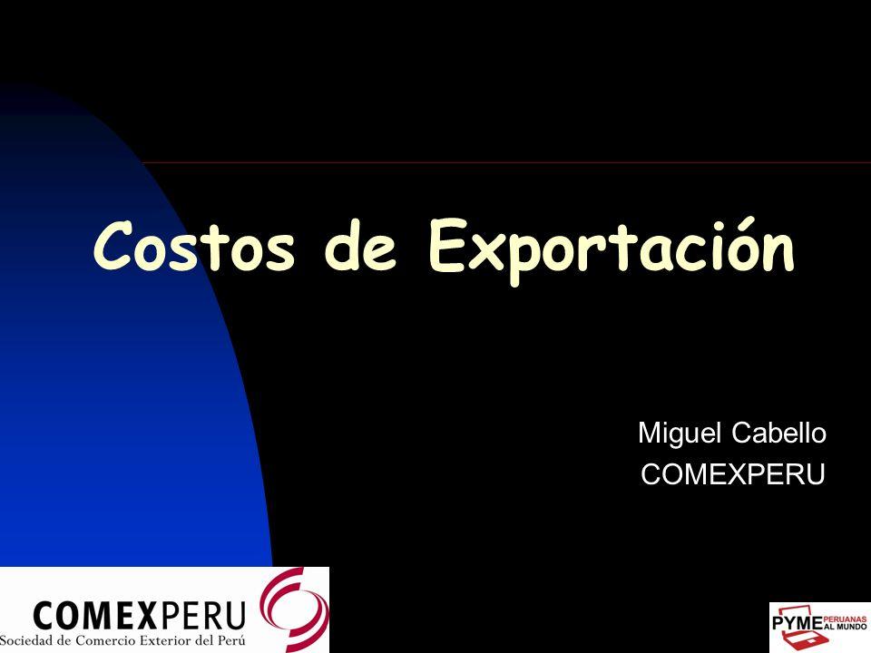 Miguel Cabello COMEXPERU