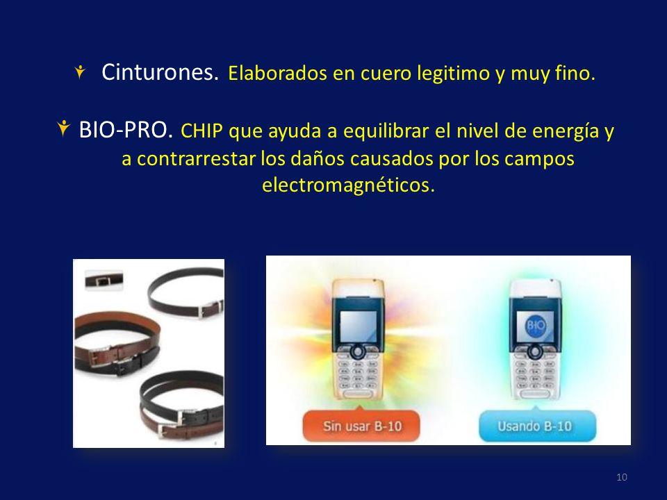 BIO-PRO. CHIP que ayuda a equilibrar el nivel de energía y