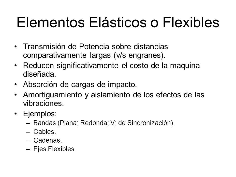 Elementos Elásticos o Flexibles