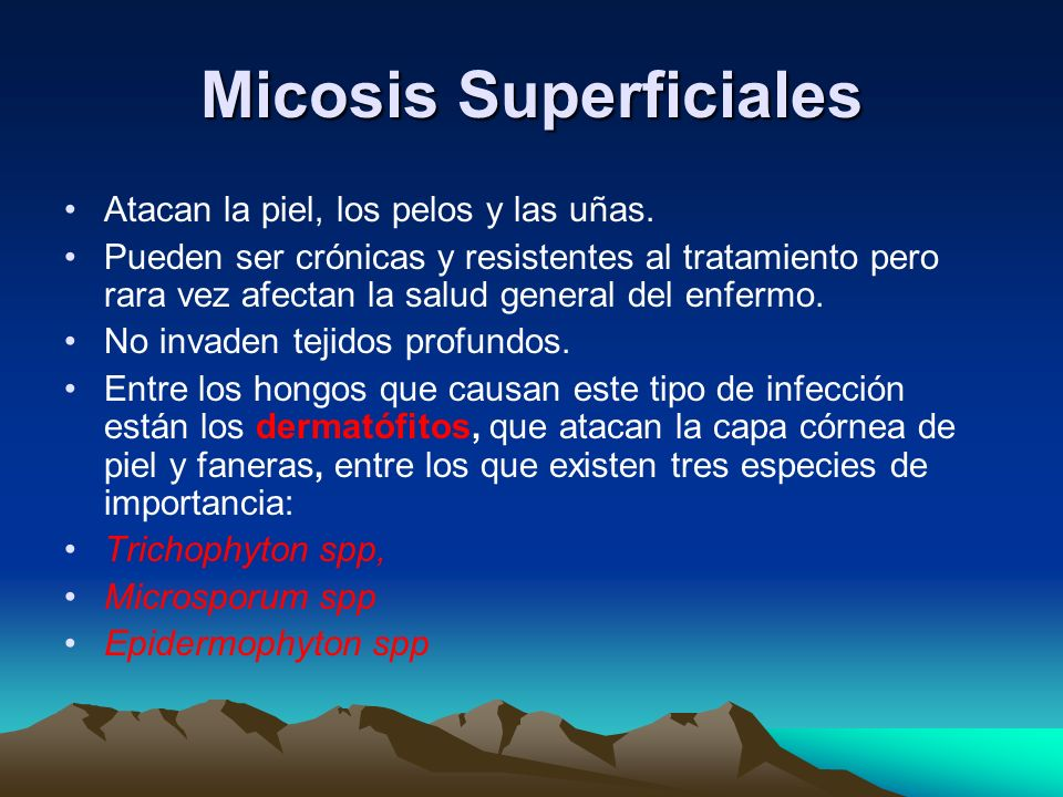 Micosis Superficiales
