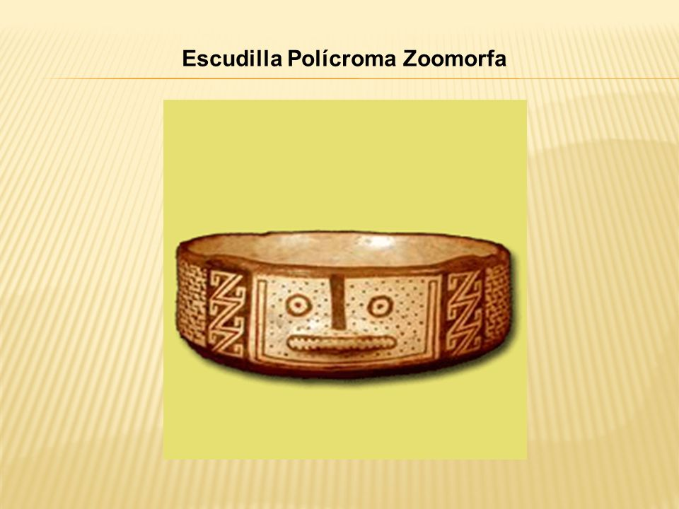 Escudilla Polícroma Zoomorfa